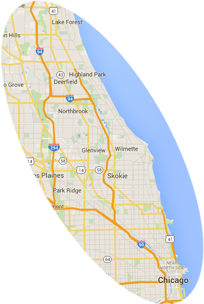 Maid1.com Service Area Map